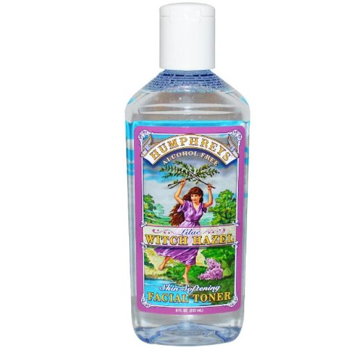 Humphrey's Witch Hazel Lilac Skin Softening Toner, 8 Ounce