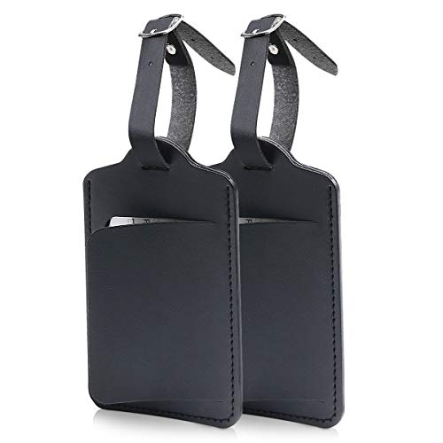 flintronic® Étiquettes de Bagage, 2PCS Étiquettes...