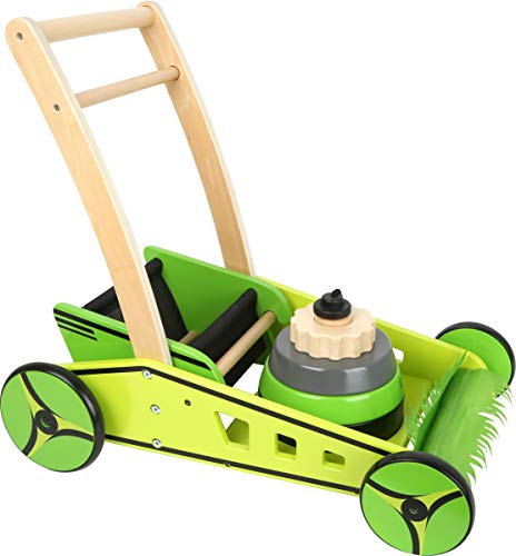 Product Image of the small foot wooden toys Lawn Mower & Baby Walker playset Designed for Children...