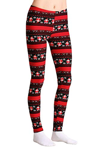 New Women/'s Soft Touch Ankle Length Various Print Pattern Legging size 8-14