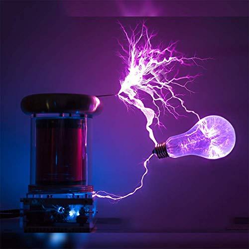 VIEUR 0,2 M Solide Zustand Tesla-Spule, Musik-Tesla-Spule, Gewitter, DIY Coil Kit Drop