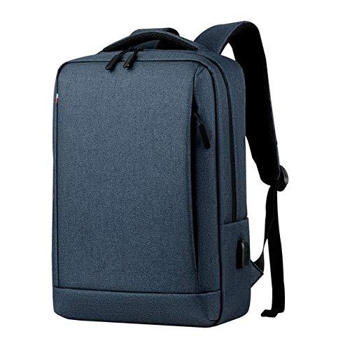 Wznb Laptoprugzak heren mannelijke rugzakken business notebook waterdichte rugzak USB oplaadtassen reizen bagpack