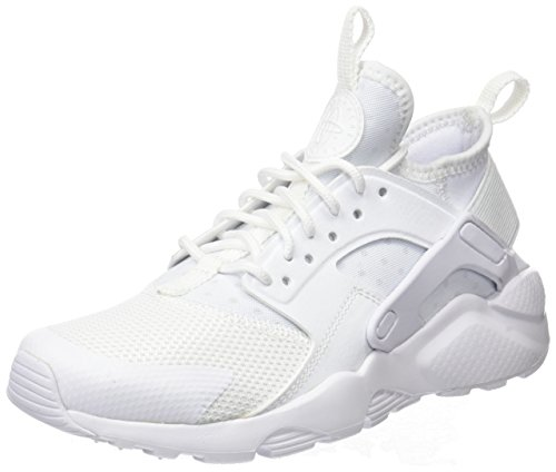 Nike Damen AIR Huarache Run Ultra GS Laufschuhe, Weiß (White/White/White 100), 40 EU