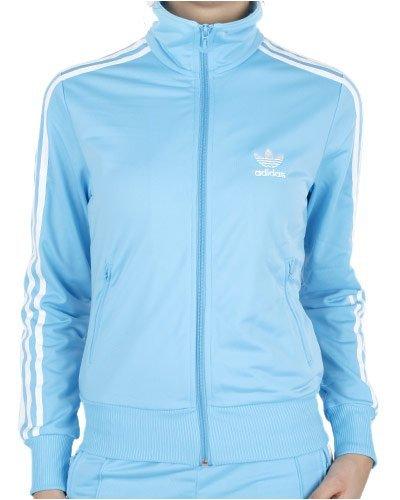 Chaqueta Adidas Firebird TT Azul Mujer
