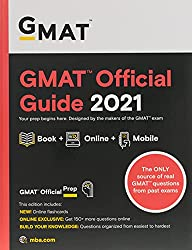 GMAT Official Guide 2021, Book + Online Question Bank (Gmat Official Guides)
