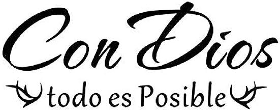 Frase en francés y español Etiqueta de la pared Citas motivacionales en inglés Etiqueta para la sala de estar Dormitorio Inicio Pegatinas de pared decorativas 73x28cm