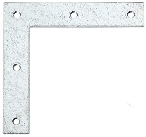 GAH-Alberts 332907 Eckwinkel | sendzimirverzinkt | 160 x 160 x 30 mm | 10er Set
