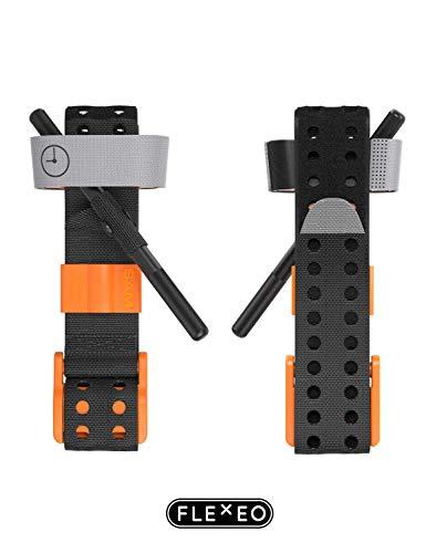 FLEXEO SAM XT Extremity Tourniquet, orange/schwarz, Civilian
