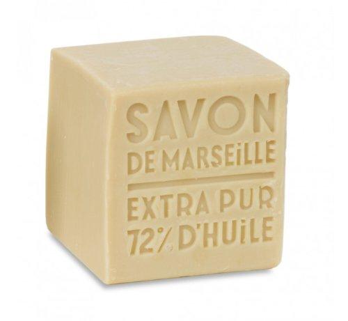 Weiße Savon de Marseille Würfelseife 300 g