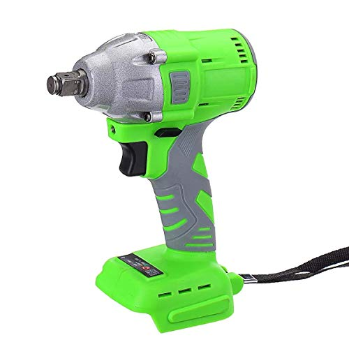 KEKEYANG Tool Brushless Lithium Battery Electric Wrench 520N.M 400W Rechargeable Impact Wrench for Maintenance Woodworking family Wrench