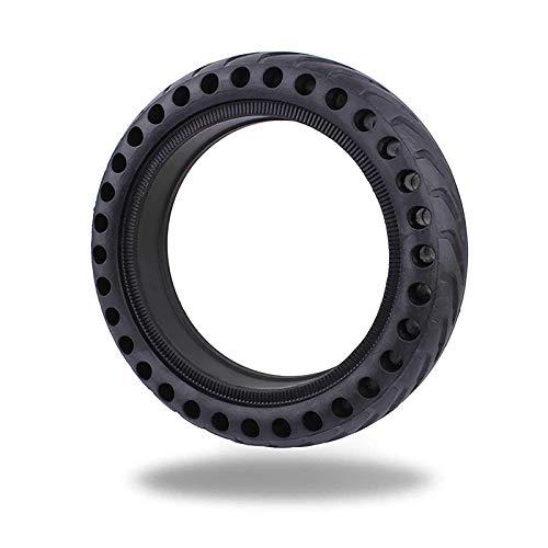 LKHF Neumático de Scooter eléctrico patín de Scooter eléctrico neumático de Rueda antipinchazos de Alto Rendimiento neumático Delantero/Trasero de Repuesto neumático de Panal