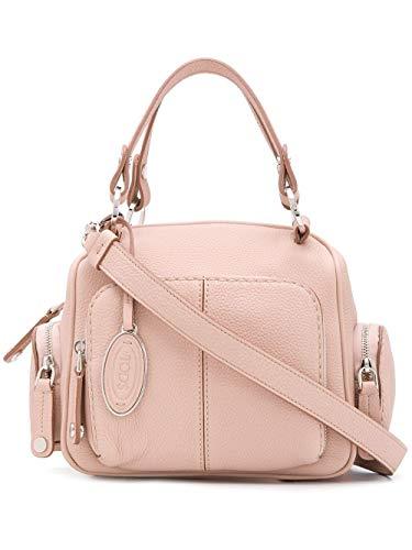 Tod's Luxury Fashion Damen XBWTBAH0100UCAM030 Rosa Leder Handtaschen | Frühling Sommer 20