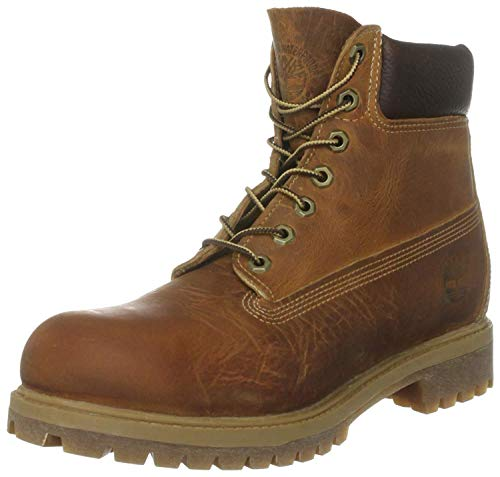Timberland Herren Heritage 6 Inch Premium Stiefel, Braun (Medium Brown Nubuck), 40 EU