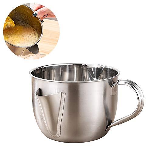 Scelet Edelstahl Haushalt Ölabscheider Suppe Ölabscheider Trennung Ölabscheider Schüssel für Die Küche
