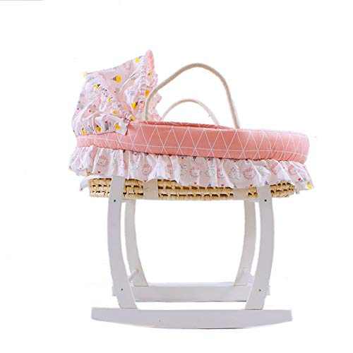Fantastic Deal! YXGH@ Baby Moses Basket Infant Car Reclining Sleeping Basket Newborn Cradle Portable...