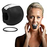 Jaw Exerciser Jaw Trainer Tonico per Il Viso Ginnico per Mascelle e Attrezzatura Tonificazione del Collo Attrezzatura Strumento per la Bellezza (Nero).