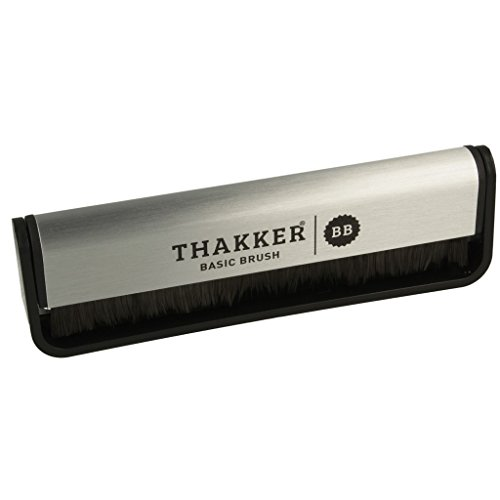 Thakker Basic Brush Cepillo Anti-Estatico de Fibras Carbono Discos de Vinilo