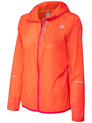 New Balance Lite Packable Laufjacke Damen orange, S