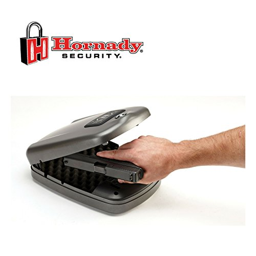 1. Hornady RAPiD Gun Safe With RFID Instant Access For Guns and Valuables