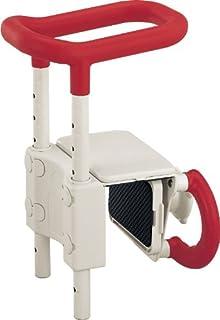 アロン化成 安寿 高さ調節付浴槽手すりUST-130 レッド