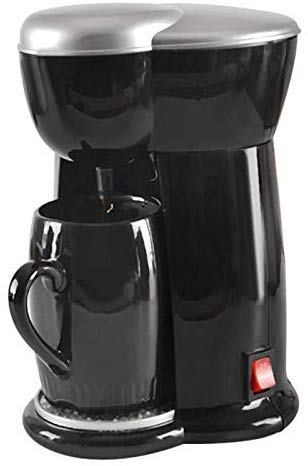 NO BRAND Máquina de café, el café Mini Sola máquina del café Express de la máquina eléctrica Inicio Máquina de café automática (Enchufe de la UE), for el Ministerio del Interior