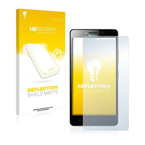 upscreen Entspiegelungs-Schutzfolie kompatibel mit Lenovo A6000 – Anti-Reflex Bildschirmschutz-Folie Matt