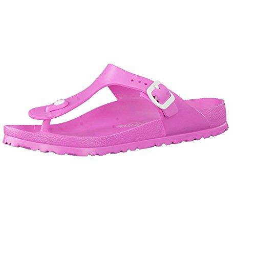 BIRKENSTOCK Pantolette Badeschuh Gizeh neon pink Eva Gr. 35-41 Neu 128341, Größe + Weite:38 normal