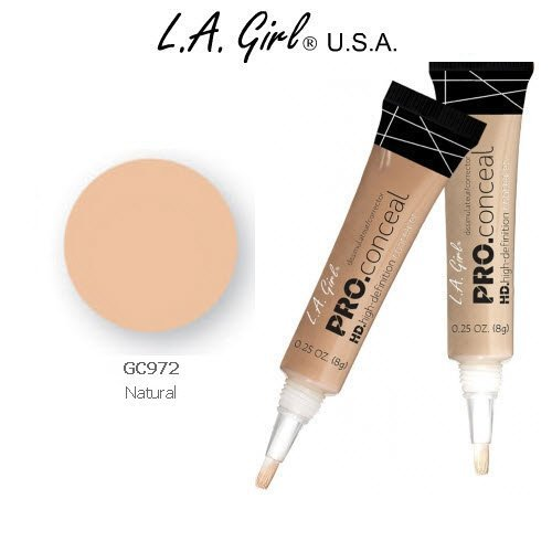 L.A. Girl Pro Conceal HD 972 Natural (2 Pack)