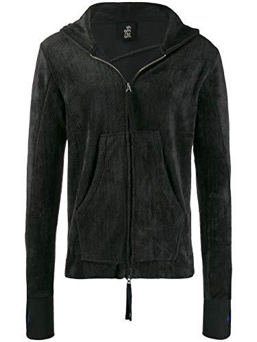 THOM KROM Luxury Fashion Mens Sweatshirt Winter Black