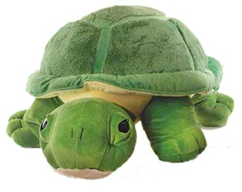 Inware 6964 - Kuscheltier Schildkröte Chilly, 27 cm, grün, Kuschelschildkröte, Schmusetier