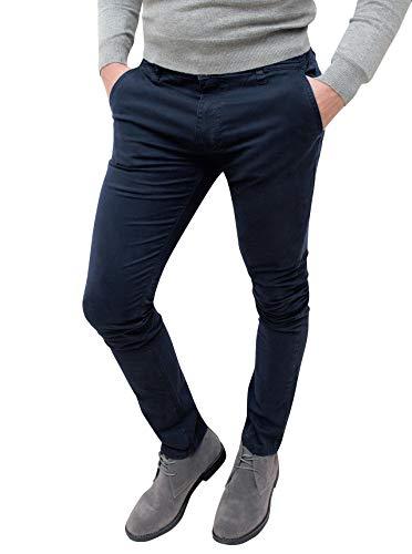 Evoga Pantaloni Casual Uomo Invernali Slim Fit (46)