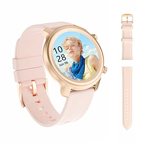 Smart Watch, Smartwatch with Blood Pressure, Blood Oxygen Monitor, Fitness Tracker with Heart Rate Monitor, IP68 Waterproof Pedometer with Sleep Monitor, Touch Screen Fitness Watch for Android & iOS