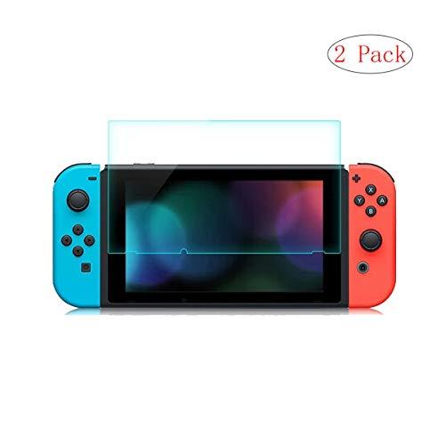 szjckj Cristal Film Templado para Nintendo Switch, [2 Piezas] Premium Dureza 9H...