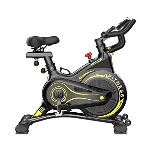 Professional Indoor Cycling Exercise Bike, Aerobic Exercise Bikes Quiet Spinning Bike Fitness Equipment Home Pedal Exercise Bike Indoor Weight Loss with Adjustable Seat and Handle