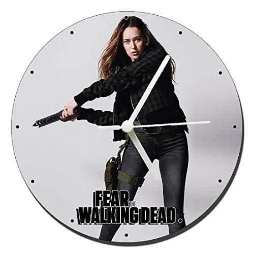 MasTazas Fear The Walking Dead Alicia Clark Alycia Debnam Carey Reloj de Pared Wall Clock 20cm