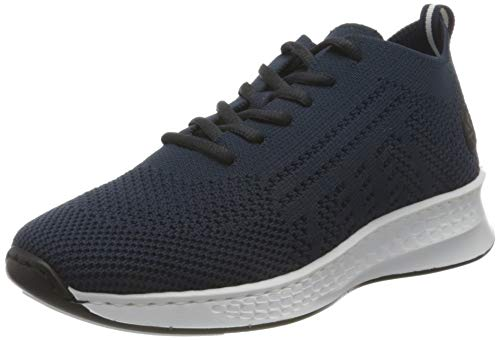Rieker Damen N56K5 Sneaker, blau,41 EU
