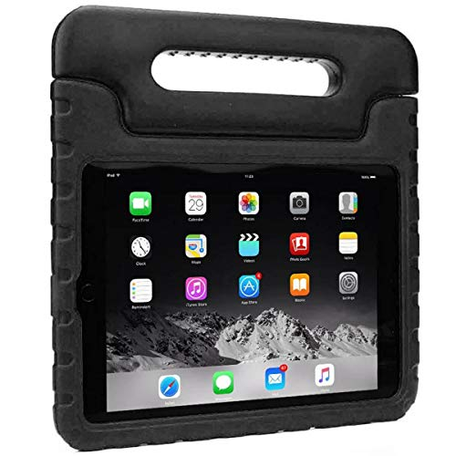 Case for New iPad 10.2 Inch 2020/2019 (8th/7th Generation), Shockproof Lightweight Kids Friendly Convertible Handle Stand Protective Case for 2020/2019 iPad 10.2, iPad Air 3 10.5 2019 - Black