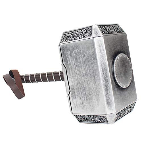 Thor's Hammer Halloween Cosplay Prop Arma 1: 1 Pelcula Prop Cosplay Prop 16'Thunder Hammer Disfraz Arma Cumpleaos Regalos Marvel Child's Christmas Birthday A