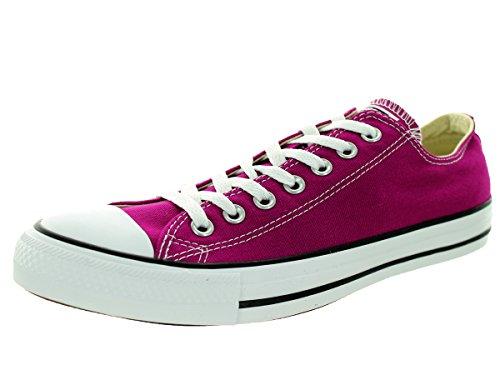 Converse Converse Womens Chuck Taylor Ox Pink Sapphire Textile Trainers 36.5 EU