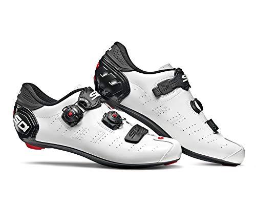 SIDI Scarpe Ergo 5, Scape Ciclismo Uomo, Bianco Nero, 39.5 EU