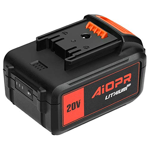 AIOPR 20V Lithium Ion Battery Pack (4.0A Battery Pack)