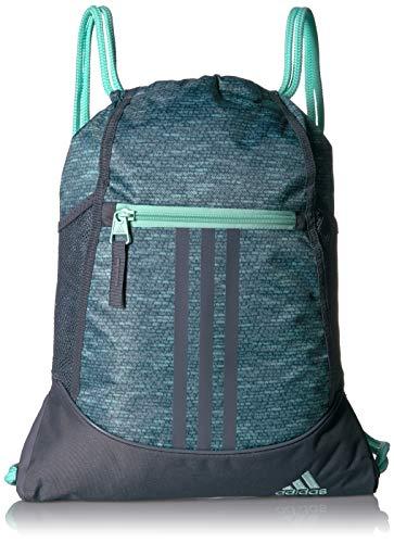 adidas Alliance II Sackpack, Bolsa Unisex Adulto, Clear Mint Jersey Fleck/Onix/Clear Mint, talla única