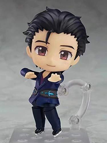 Zqcay Modelo de Personaje Q Versión De Clay Yuri On Ice Yuri Katsuyo Figura En Caja Modelo De Anime...