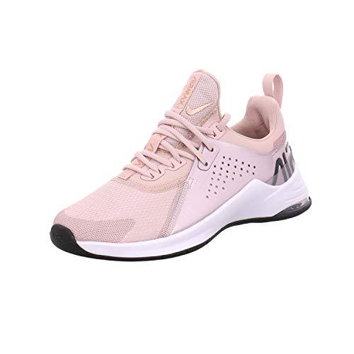 Nike Wmns Air Max Bella TR 3, Scarpe da Ginnastica Donna, Stone Mauve/Mtlc Red Bronze-Mtlc Silver-Barely Rose-White-Black, 38.5 EU