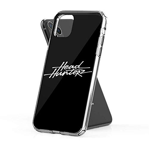 Flytoasky Handyhülle Soft TPU Transparent Stoßfest Fallschutz Bumper Hülle für iPhone SE 2020/7/8 Cover Headhunterz Hard with Style Hardstyle Dj Merchandise T-Shirts Ho