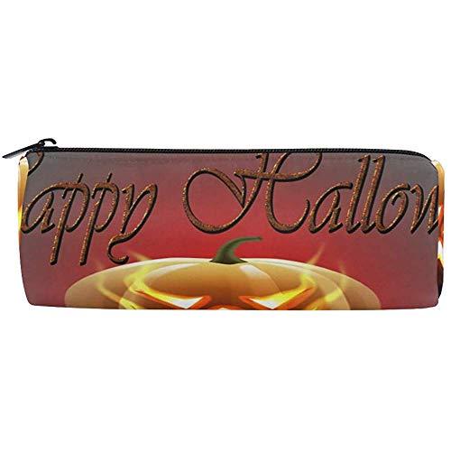 Pencil Pen Case Haltbarer Stifthalter Happy Halloween Pouch Briefpapier Tasche Geldbörse Kosmetische Make-Up Tasche Für Middle High School Office College