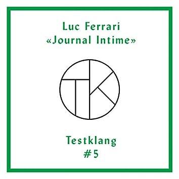 Testklang #5: Luc Ferrari Journal Intime