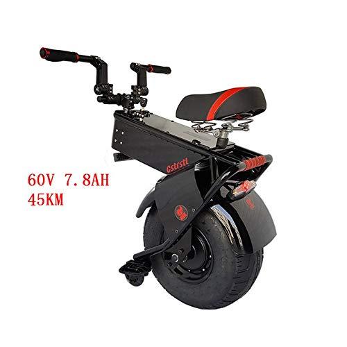 GJZhuan Elektro-Einrad, Elektro-Scooter for Erwachsene 18-Zoll-Doppel 1000w Motors Höchstgeschwindigkeit 25 Km/H Faltbarer Elektrischer Roller Li-Ionen-Akku Ultralight Faltbare E-Scooter