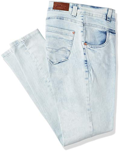 Jeans Skinny, Zune Denim, Feminino, Azul, 40