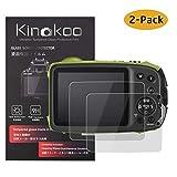 kinokoo Tempered Glass Film for Fuji XP130/XP120/XP90 Crystal Clear Film...